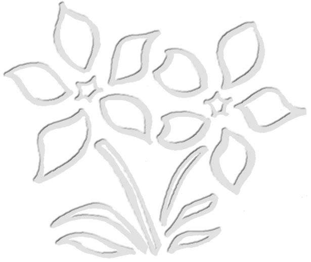 flower grey